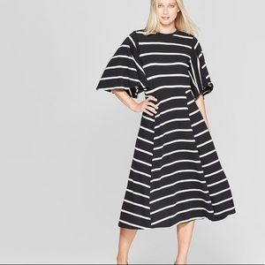 New and Hot!!! Bell Sleeve A-Line Dress -